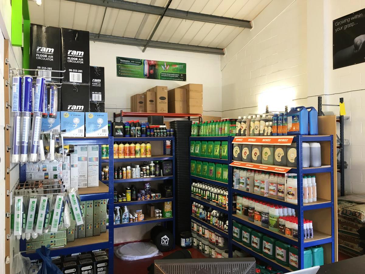 Groworks Hydroponics Brighton CX Horticulture UK Enhanced Retailer