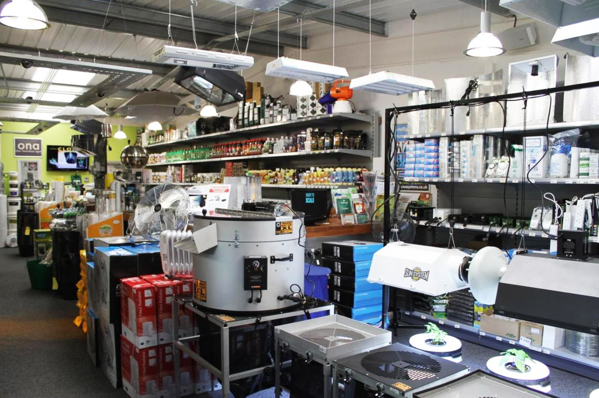 One Stop Grow Shop Stoke CX Horticulture UK Enhanced Retailer