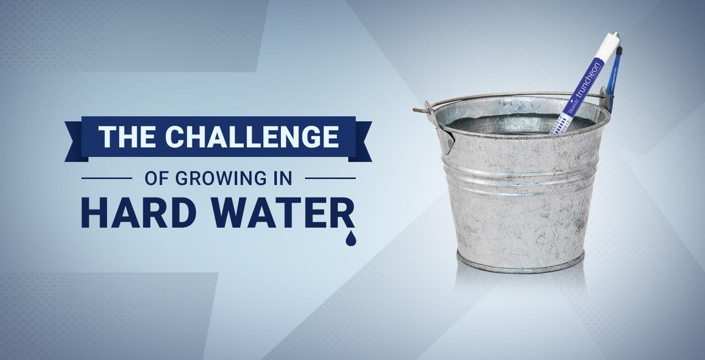 hard water calcium carbonate deposit