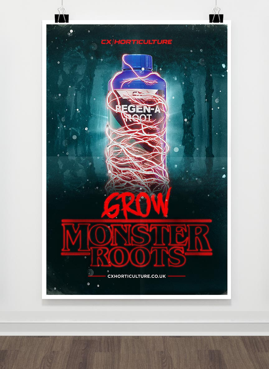 CX Hydroponics Stranger Things